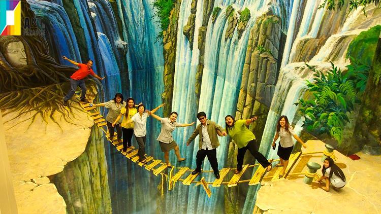 Khuyến mãi vé bảo tàng tranh 3d Đà Nẵng