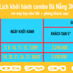 Combo Đà Nẵng